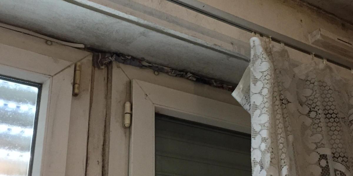 Problème de moisissures sur de vieilles fenêtres