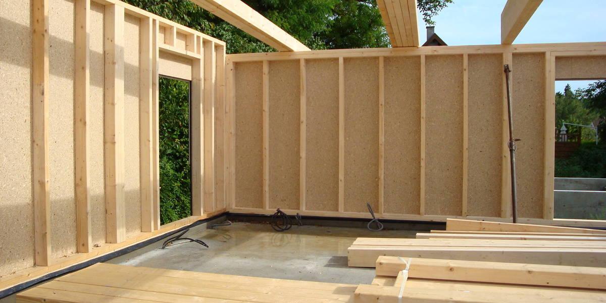 Poser une baie vitrée sur ossature bois