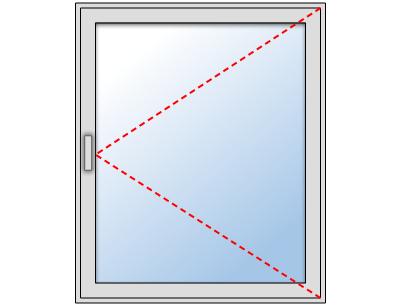 Fenêtre PVC 1 vantail sur mesure