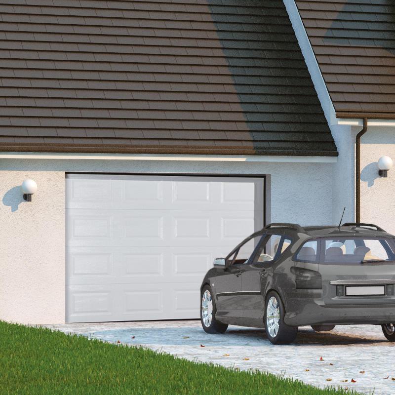 La porte de garage sectionnelle est la plus esthétique et la plus pratique